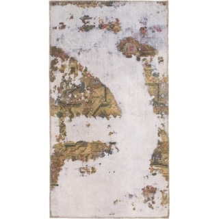 Hand Knotted Ultra Vintage Wool Area Rug - 2' 6 x 4' 7