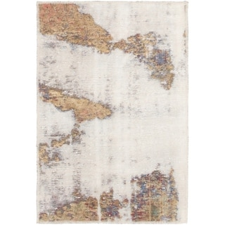 Hand Knotted Ultra Vintage Wool Area Rug - 2' 3 x 3' 4