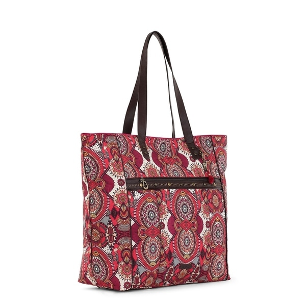 Sakroots Womens New Adventure Luggage Tag Passport Travel Purse