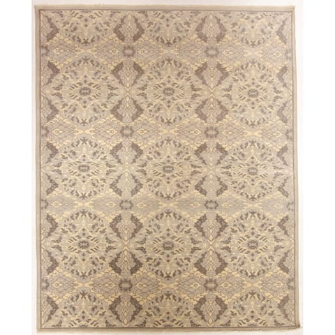 """Oushak Hand-Knotted Rug - 8"""" x 9'10"""""""