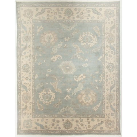 """Oushak Hand-Knotted Rug - 8' x 10'1"""""""