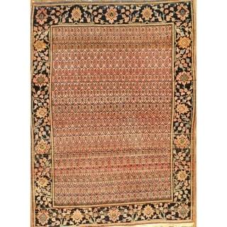 """Pasargad DC Antique Persian Farahan Sarouk Area Hand-Knotted Rug - 3'6"""" x 4'8"""""""