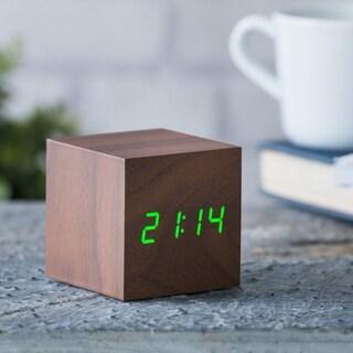 Gingko Cube Click Clock