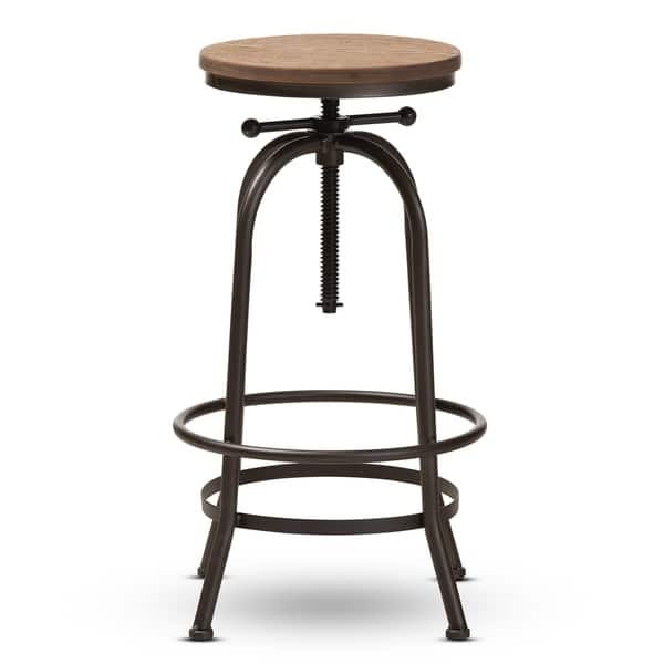 Magnificent Shop Industrial Rust Finished Adjustable Swivel Bar Stool By Uwap Interior Chair Design Uwaporg