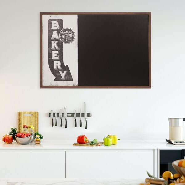 Vintage Bakery Sign Wall Mounted Kitchen Chalkboard