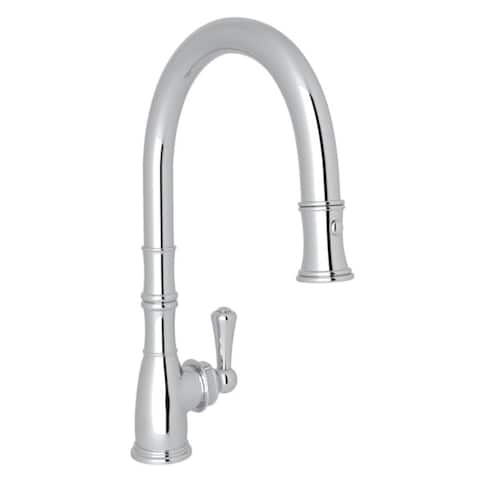 Rohl U.4744APC-2 Perrin and Rowe Pull-Down Faucet with Single-Lever Handle