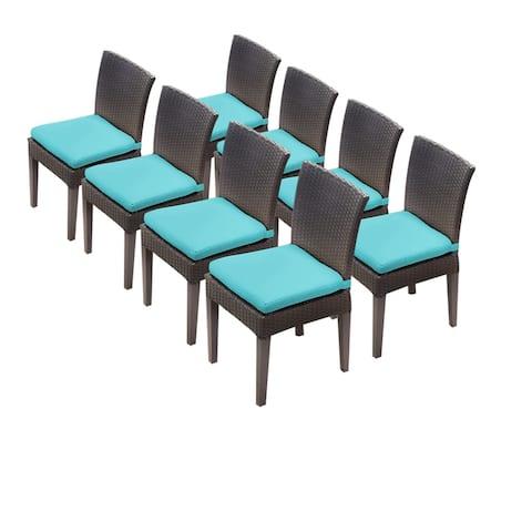 8 Barbados Armless Dining Chairs