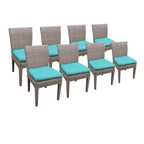8 Monterey Armless Dining Chairs