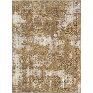 Hand Knotted Ultra Vintage Wool Area Rug - 6' 4 x 8' 7