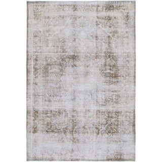 Hand Knotted Ultra Vintage Wool Area Rug - 8' 2 x 11'