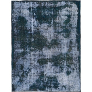 Hand Knotted Ultra Vintage Wool Area Rug - 6' 6 x 8' 8