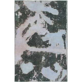Hand Knotted Ultra Vintage Wool Area Rug - 3' 4 x 5'