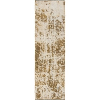 Hand Knotted Ultra Vintage Wool Runner Rug - 2' 2 x 7' 8