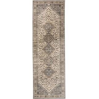 """Grand Bazaar Huron Beige/Gray - 2'6"""" x 7'7"""""""