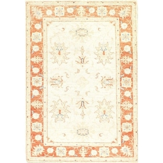 """Pasargad DC Original Hand-Knotted Farahan Scatter Rug - 3'3"""" X 4'8"""""""