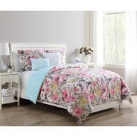 Copper Grove Novopolotsk Reversible Floral Duvet Cover Set