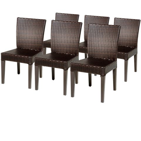 6 Belle Armless Dining Chairs