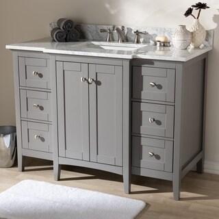 48-Inch Single Sink Bathroom Vanity by Baxton Studio