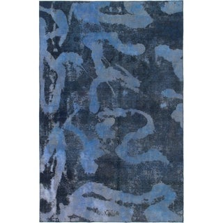 Hand Knotted Ultra Vintage Wool Area Rug - 7' x 9' 5