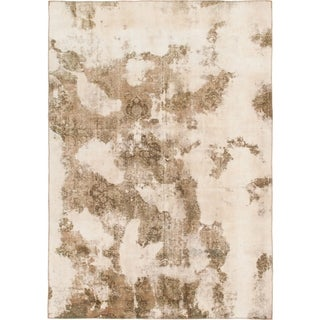 Hand Knotted Ultra Vintage Wool Area Rug - 7' 2 x 10' 4