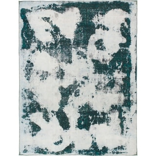 Hand Knotted Ultra Vintage Wool Area Rug - 6' 5 x 8' 5