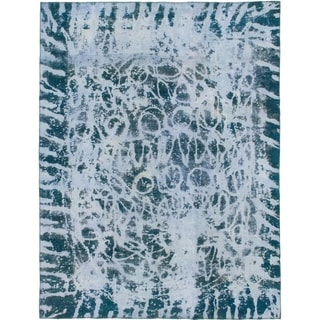 Hand Knotted Ultra Vintage Wool Area Rug - 8' 6 x 11' 2