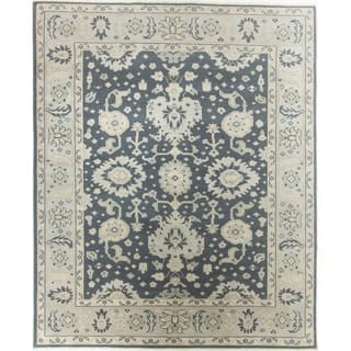 "Oushak Hand-Knotted Rug - 7'10"" x 9'7"""