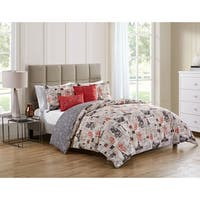 Copper Grove Myadel Reversible Quilted Coverlet and Duvet Set