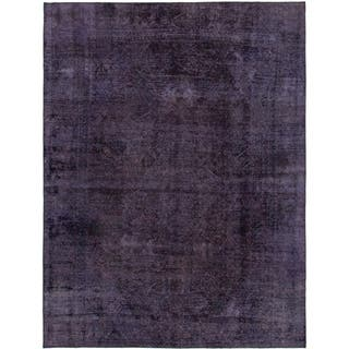 Hand Knotted Ultra Vintage Wool Area Rug - 7' 6 x 10'