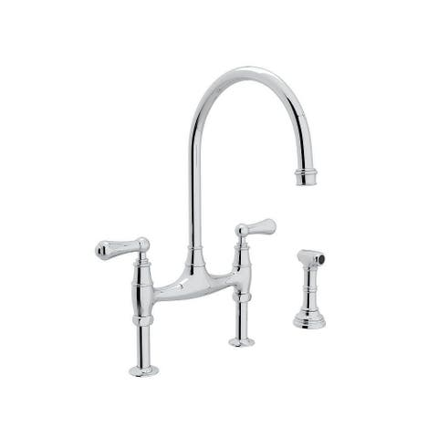 Rohl U.4719L-APC-2 Perrin and Rowe Bridge Kitchen Faucet