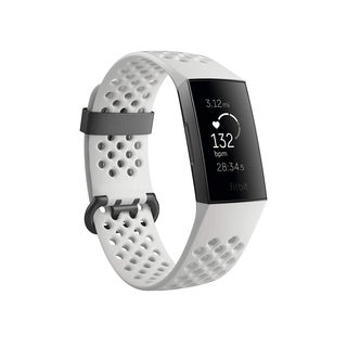 Fitbit Charge 3 Heart Rate Monitor & Activity Tracker Special Edition Frost White - N/A - N/A