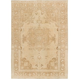 Hand Knotted Ultra Vintage Wool Area Rug - 8' 6 x 11' 9