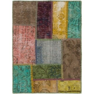 Hand Knotted Ultra Vintage Wool Area Rug - 2' 3 x 3' 1