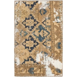 Hand Knotted Ultra Vintage Wool Area Rug - 2' 8 x 4' 3