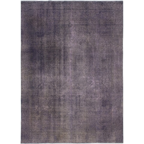 Hand Knotted Ultra Vintage Wool Area Rug - 9' x 12' 5