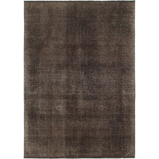 Hand Knotted Ultra Vintage Wool Area Rug - 6' 9 x 9' 4