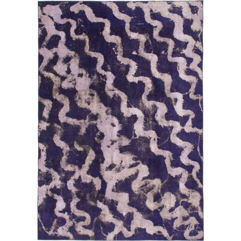 Hand Knotted Ultra Vintage Wool Area Rug - 8' 5 x 12' 2