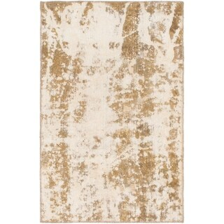 Hand Knotted Ultra Vintage Wool Area Rug - 3' x 4' 7