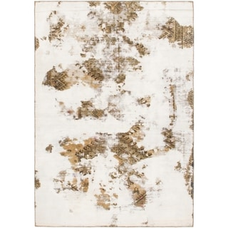 Hand Knotted Ultra Vintage Wool Area Rug - 5' x 7' 3