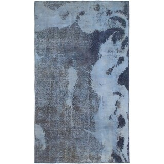 Hand Knotted Ultra Vintage Wool Area Rug - 3' 8 x 6' 3