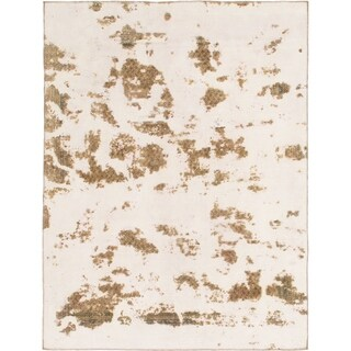 Hand Knotted Ultra Vintage Wool Area Rug - 7' x 9'