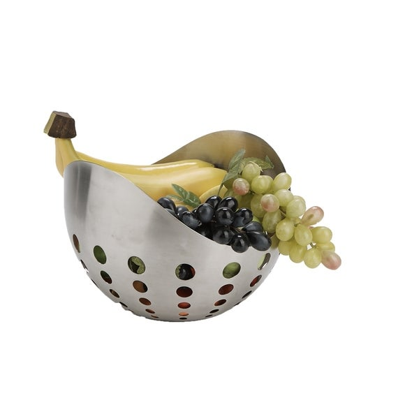 Mind Reader Fruit Basket And Vegetable Bowl Kitchen Countertops Stainless Steel