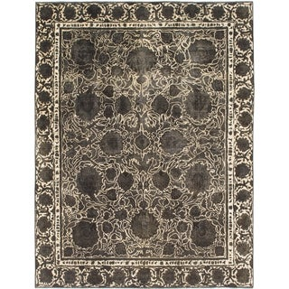 Hand Knotted Ultra Vintage Wool Area Rug - 8' 6 x 11' 6