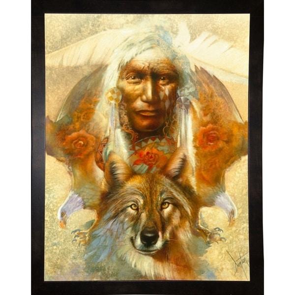 """Spirit Guardians-DENLUN14970 Print 36.5""""x28"""" by Denton Lund"""