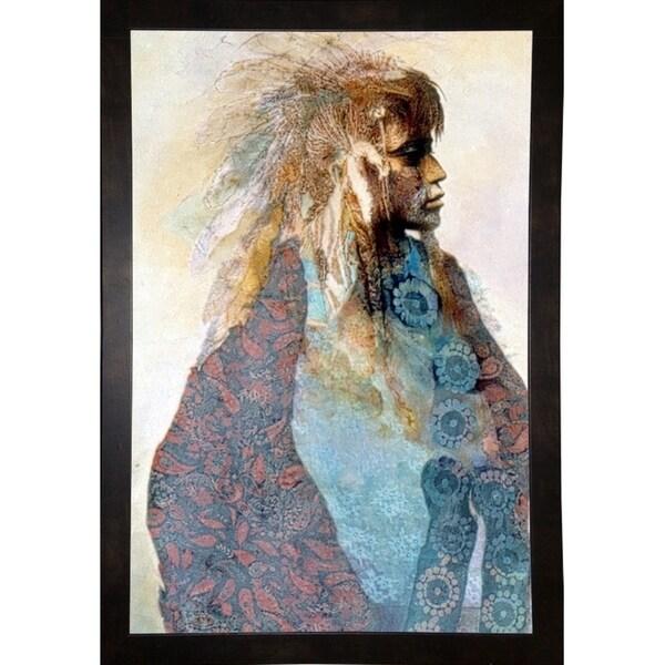 "The Young Warrior-DENLUN16450 Print 22""x14.25"" by Denton Lund"