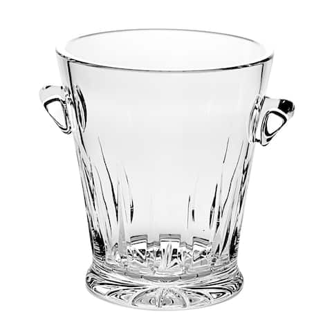 """Majestic Gifts European Quality Cut Crystal Ice Bucket -9"""" Height - Made in Europe"""