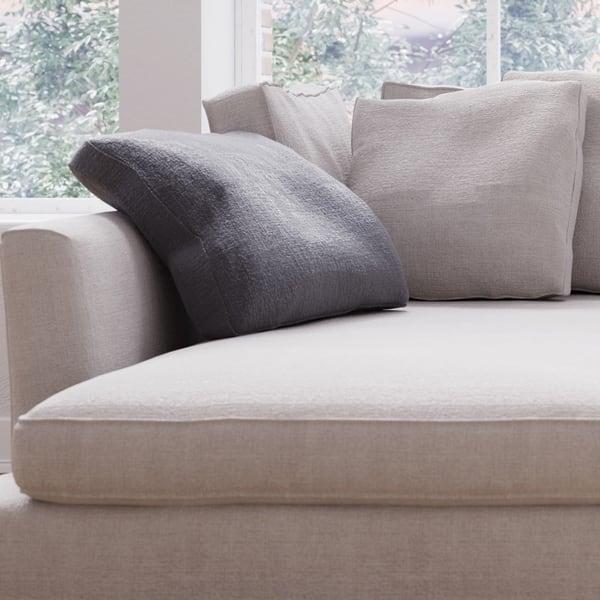 Made to Order Roche Studio Jasper Off-White Fabric Sectional Sofa