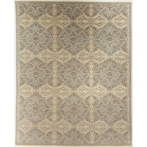 """Oushak Hand-Knotted Rug - 7'10"""" x 9'9"""""""