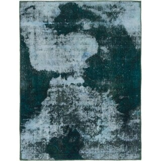 Hand Knotted Ultra Vintage Wool Area Rug - 3' 6 x 4' 8