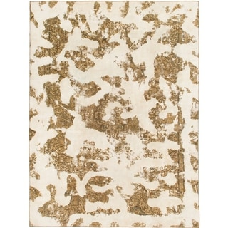 Hand Knotted Ultra Vintage Wool Area Rug - 8' 6 x 11' 3